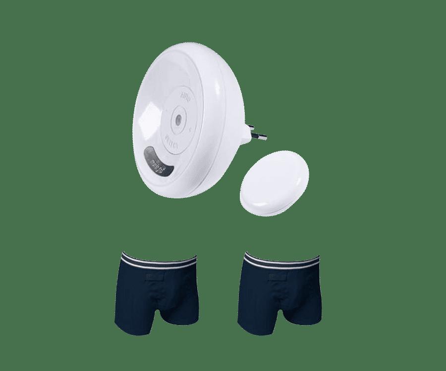 Bedwetting alarm - plaswekker - reviews - Rodger basisset